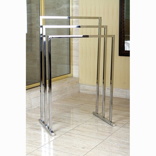 brass edenscape free standing towel rack polished chrome buy online in uae home garden. Black Bedroom Furniture Sets. Home Design Ideas
