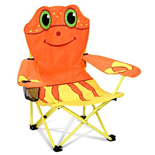 Director Chair Kids Chairs (Clicker Crab Kids Directors Chair with Cup Holder)