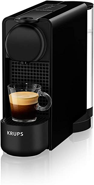 Krups - Máquina de café Espresso Krups Essenza Plus - Máquina de café en cápsulas - 1260W de potencia - Capacidad 1 litro Negro: Amazon.es: Hogar