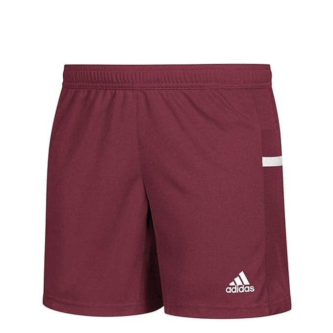 f6ad77528 adidas Team 19 Knit Short - Women's Multi-Sport XS Collegiate Burgundy/White