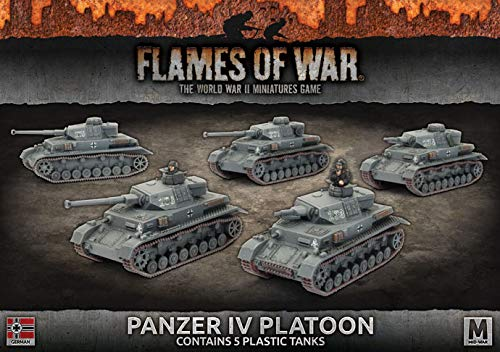 Flames of War: Mid War: German: Panzer IV Platoon (GBX106)