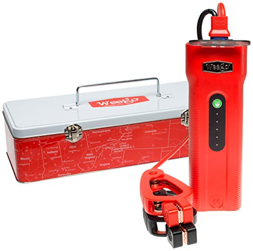 Weego Jump Starter 66 Most Powerful, Award-Winning, USA-Designed & Engineered, Lithium-ion, Jump Starts 10L Gas & 5L Diesel Engines-Charges Phones, Tablets, Laptops & 36 Hr 600 Lumen Light by Weego