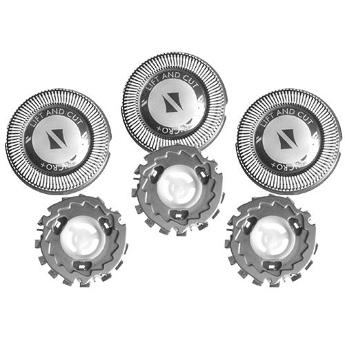 Price comparison product image NEW! Replacement Shaver Heads/ blades/ cutters Fit Norelco HQ4 heads, replaces 1915XL & 1915XR ,Norelco HQ56