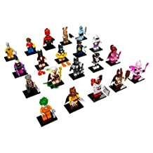 LEGO The Batman Movie Collectible Minifigure - Complete Set of 20 Minifigures (71017)