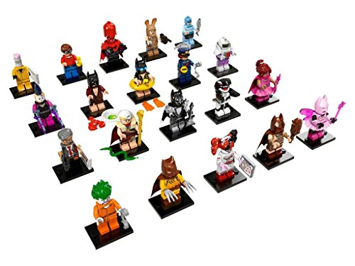 LEGO Batman Collectible Minifigures Complete product image