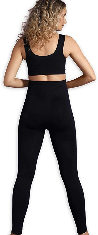 Color: Black Over Bump Pregnancy Leggings Carriwell Maternity Support Leggings Size: S-XL