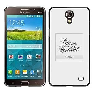 LECELL--Funda protectora / Cubierta / Piel For Samsung Galaxy Mega 2 -- Baile --