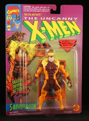 Toy Biz Marvel The Uncanny X Men Sabretooth Action Figure
