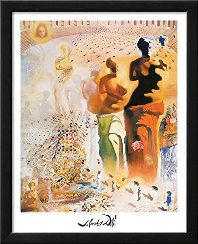 (Salvador Dali Hallucinogenic Toreador Art Print Poster Framed Art Print 18 x 22in)