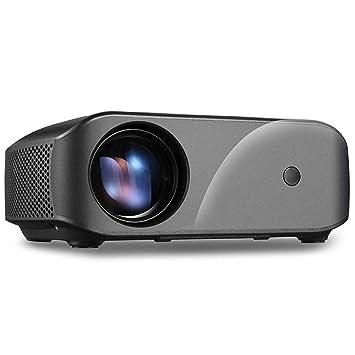 YZPTYY Proyector de Video 2800Lux Screen Mirroring, Proyector HD ...