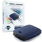 Tech Armor ActivePower 12000mAh PowerBank External Battery Portable Dual USB Charger Power Bank - Fast Charging...