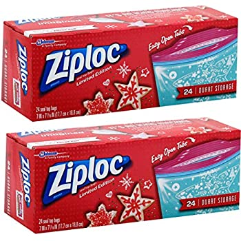 Amazon Com Ziploc Food Storage Quart Size Limited Edition