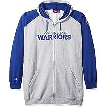 NBA Raglan Zip Printed Hood