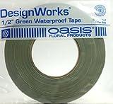 "Oasis 1/2""x60yd Green Waterproof Tape"