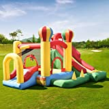 Costway Inflatable Bouncy Castle Kids Bouncer Jumping House Play Fun 4 Types Christmas Gifts (Type A)