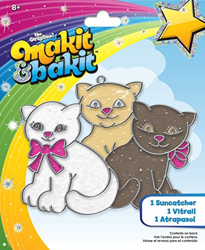 (Colorbok MaKit, and BaKit, Glittering Suncatcher Kits, Kittens)