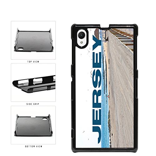 Jersey Beach and Shore Plastic Phone Case Back Sony Xperia Z1 includes - Case Shore Jersey