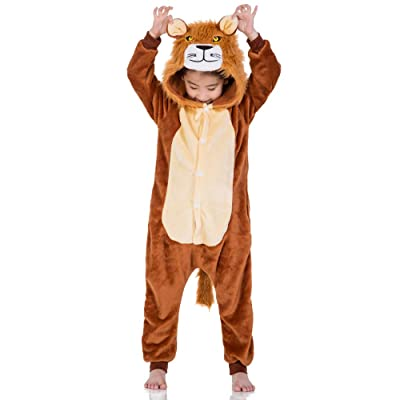 yolsun Kids Onesie Animal Pajamas, Cute Chrismas Costume Cosplay for Boys&Girls: Clothing [5Bkhe1006653]