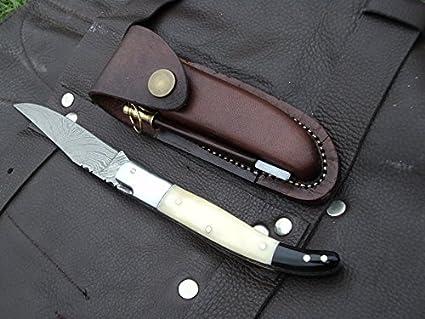 Amazon.com: Laguiole dkc-774 Snow Leopard cuchillo de ...
