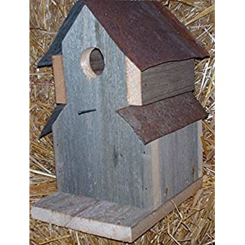 Amazon Com Amish Handcrafted One Hole Two Roof Tin