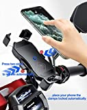 iMESTOU Waterproof Motorcycle Wireless 15W Qi/USB