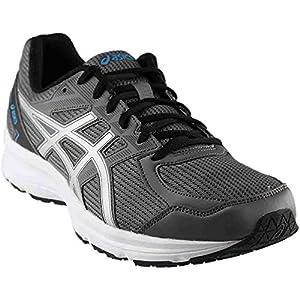 ASICS T7K3N.9793 Men's Jolt Running Shoes, Carbon/Silver/Island Blue, 13