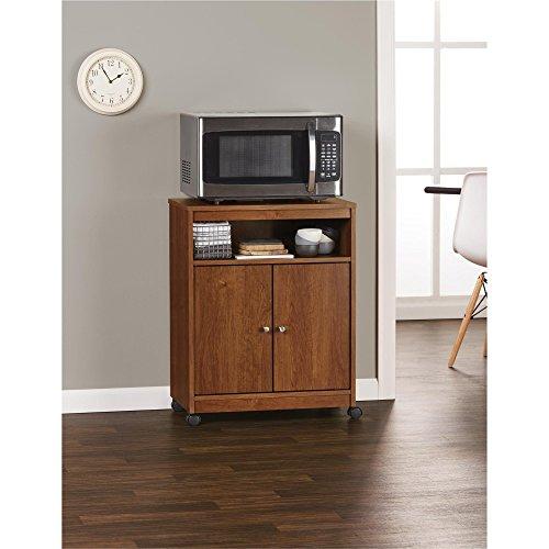 Ameriwood Home Landry Microwave Cart, Brown Oak by Ameriwood Home (Image #6)