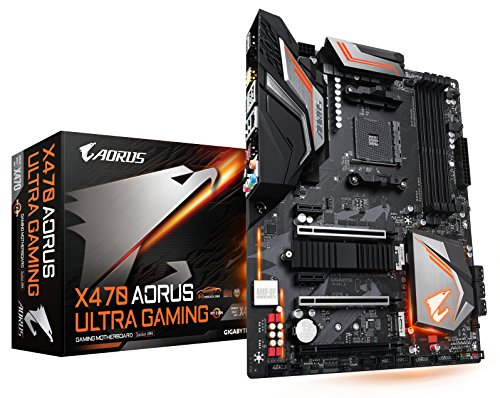 GIGABYTE X470 AORUS ULTRA GAMING (AMD Ryzen AM4/ X470/ USB 3.1 Gen 2 Front Type C/ ATX/ DDR4/ ()