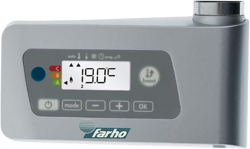 farho SECHE Serviette Electrique Nova Little Blanc /·/·/· Radiateur Seche Serviette Electrique /· 400 Watts /· Mesure 800 x 500 mm