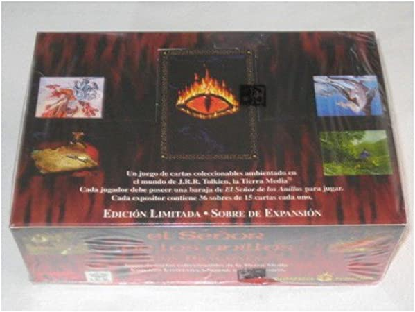 El Señor de los Anillos - Display Sobres Dragones [36]: Amazon.es: Juguetes y juegos