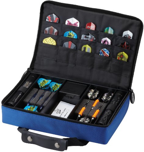 casemaster-classic-12-dart-nylon-storage-travel-case-blue