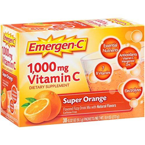 076314302031 - EMERGEN-C Emergen-C Drink Mix, Orange 36/Box carousel main 6