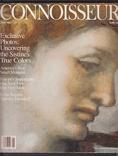 CONNOISSEUR Michelangelo Sistine Chapel Bayeux Tapestry Dan Berley + 5 1982