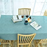 kitchen 67 brunch LIUSHIJITUAN Rectangle Fluid systems Solid color Tablecloth,Color Tablecloth Household Kitchen Hotels Table cloth-D 110x170cm(43x67inch)