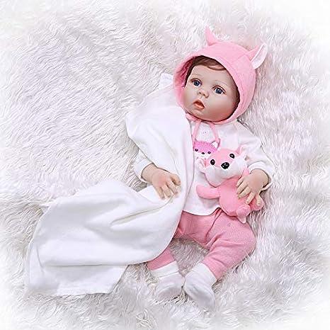 28in Realistic Baby Dolls Full Body Vinyl Reborn Dolls Toddler Girls Gifts Xmas