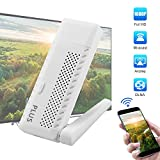 Wifi Miracast Dongle,BUKELERNDisplay Miracast adapter High Compatible Mirascreen DLNA Airplay for HDMI IOS Android Multi-display TV Stick