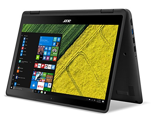 Acer Spin 5, 13.3″ Full HD Touch, 7th Gen Intel Core i5, 8GB DDR4, 256GB SSD, Windows 10, Convertible, SP513-51-53FC