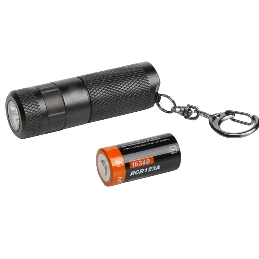 TLMYDD LED Mini USB Wiederaufladbare Taschenlampe Tragbare Wasserdichte Schlüsselbund Wiederaufladbare Taschenlampe Taschenlampe