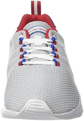 Coq White Uomo Bianco Summer Le Optical Sportif Techracer Blanc Mesh Sneaker 1TcdB