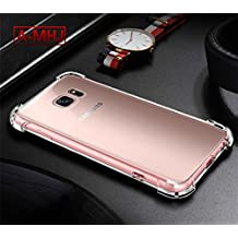 Samsung S6 Case, A-MHJ Shockproof Clear Soft Silicone Cases for Samsung Galaxy S6 , Drop Protection/Shock , Absorption Technology
