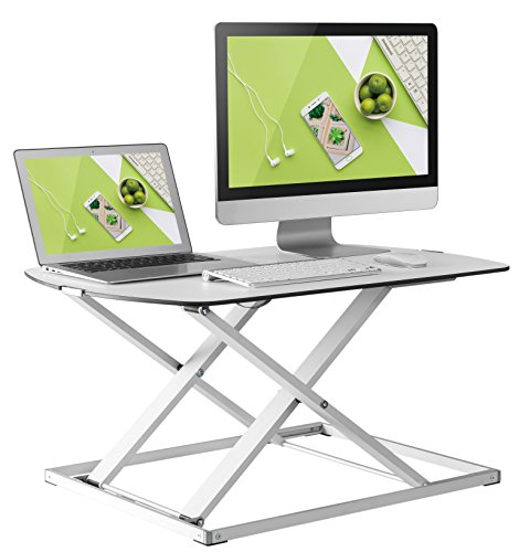 Husky Mounts Height Adjustable Standing Desk - Fully Assembled by Husky Mounts