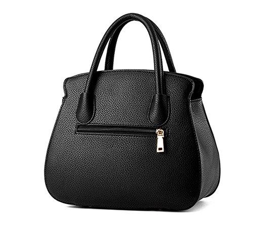 Shoulder mano grigio semplice Bao moda Personalità Tide Diagonal Bag One Shell Female nero twH8O