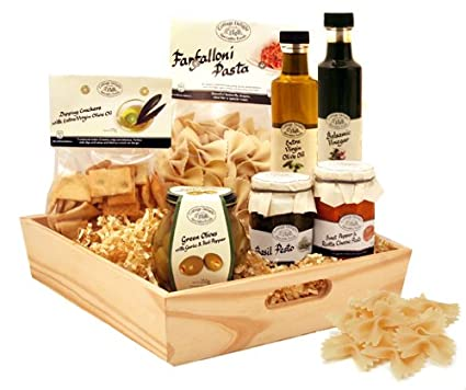 Italian Hamper Gift Send The Flavour Of Italy Food Basket For Next Day Delivery Includes Authentic Treats Sgs 080 Co Uk Kitchen Home