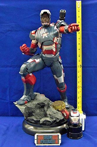 Sideshow Iron Patriot 1:4 Maquette Iron Man -