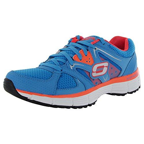 Skechers Sport Womens Sport Fashion Sneaker Blue / Coral 8PbrXEttv