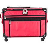xl tutto sewing machine case - Tutto 9224CMA Machine on Wheels-XL Red 23