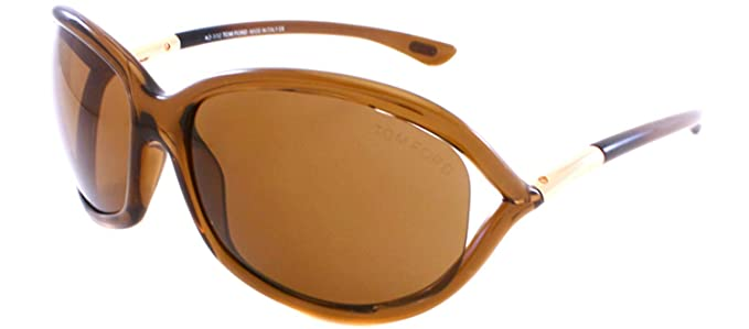 e02dc3b0a5c2 Image Unavailable. Image not available for. Color  Tom Ford JENNIFER TF08  Sunglasses Color 48H Polarized