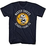 American Classics Kung Fu Panda Movie Shifu Kung Fu School Navy Adult T-Shirt Tee