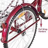 Goplus Adult Tricycle Trike Cruise Bike