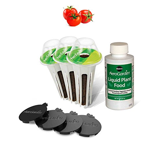 AeroGarden Red Heirloom Cherry Tomato Kit for Ultra, Extra, & Classic 7 Models by AeroGrow